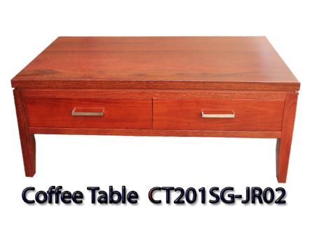 JARRAH TIMBER COFFEE TABLE  CT201SG-JR02