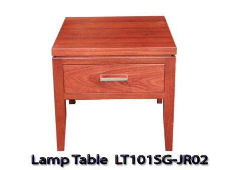 JARRAH TIMBER LAMP TABLE  LT101SG-JR02