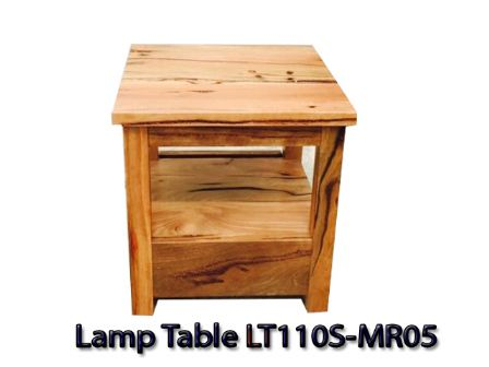MARRI WOOD TIMBER LAMP TABLE LT110S-MR05