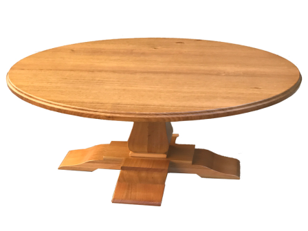 TASMANIAN OAK TIMBER LAMP TABLE LT-PAD01