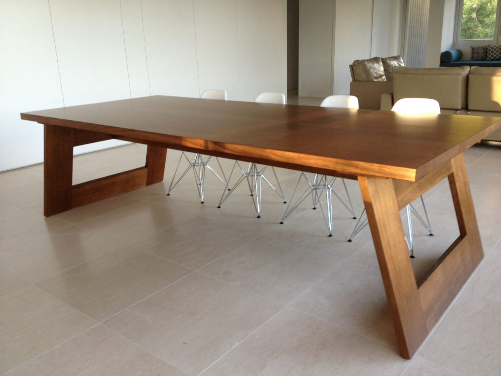 Solid timber dining table gallery dining table ideas for Custom made furniture