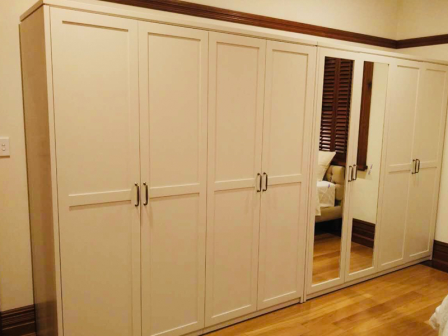 Custom Design bed room Wardrobe